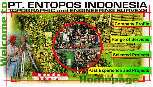 ENTOPOS INDONESIA, Geomatics, Surveying, Photogrammetry, Remote Sensing, GIS, Geomatics Consultant